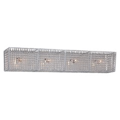 Metropolitan Saybrook Catalina Silver Bathroom Light