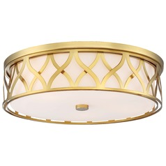 Minka Lavery Liberty Gold Flushmount Light