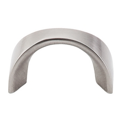 Modern Cabinet Pull in Brushed Satin Nickel Finish