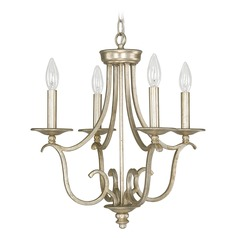 Capital Lighting Bailey Winter Gold Mini-Chandelier