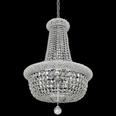 Allegri Crystal Napoli Chrome Pendant Light