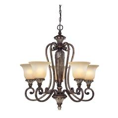 Dolan Designs Lighting Five-Light Single-Tier Chandelier 1070-162