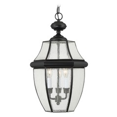 Quoizel Newbury Mystic Black Outdoor Hanging Light