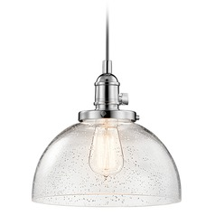 Kichler Lighting Avery Mini-Pendant Light with Bowl / Dome Shade