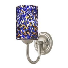 Sconce in Satin Nickel Finish