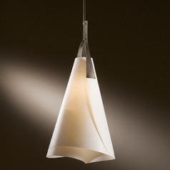 Hubbardton Forge Lighting Mobius Dark Smoke Pendant Light