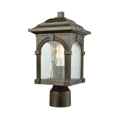 Elk Lighting Stradelli Hazelnut Bronze Post Light