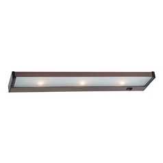 20-Inch Xenon Under Cabinet Light Direct-Wire / Plug-In 2650K 120V Bronze by Sea Gull Lighting