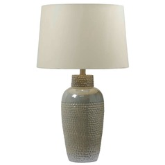 Table Lamp in Iridescent Ceramic Finish