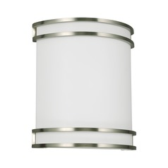Sea Gull Lighting ADA Wall Sconce Brushed Nickel Finish