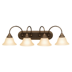 Kichler Bathroom Light in Olde Bronze Finish