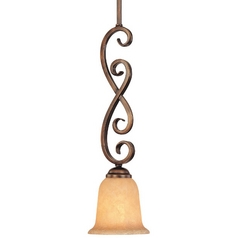 Dolan Designs Lighting Mini-Pendant with Mojave Glass 2091-133