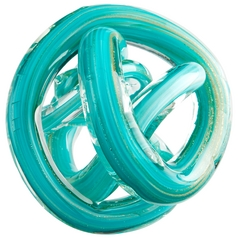 Cyan Design Tangle Teal Sculpture