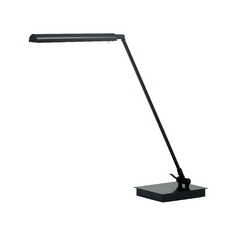 Modern LED Task / Reading Lamp in Black Finish