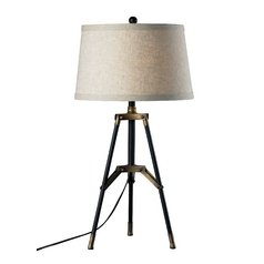 Mid-Century Modern Table Lamp Gold by Dimond Lighting