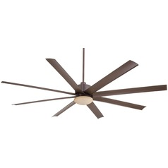 Minka Aire Fans Slipstream Xxl Oil-Rubbed Bronze Ceiling Fan with Light