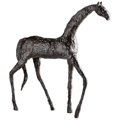 Cyan Design Walking Horse Bronze Sculpture