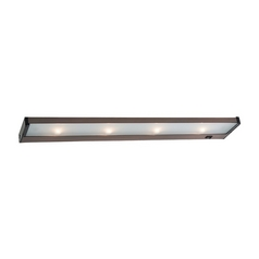 26-Inch Xenon Under Cabinet Light Direct-Wire / Plug-In 2650K 120V Bronze by Sea Gull Lighting