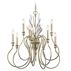 Kichler Grace 9-Light Chandelier in Sterling Gold