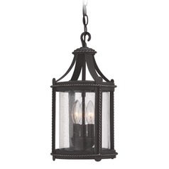 Designers Fountain Palencia Artisan Pardo Wash Outdoor Hanging Light
