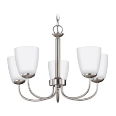 Sea Gull Lighting Bannock Brushed Nickel Chandelier