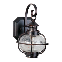 Maxim Lighting Portsmouth Oil Rubbed Bronze Outdoor Wall Light