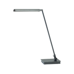 Modern LED Task / Reading Lamp in Granite Finish