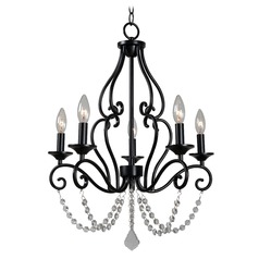 Kenroy Home Isadora Bronze Mini-Chandelier