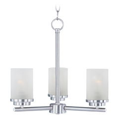 Maxim Lighting Corona Satin Nickel Chandelier