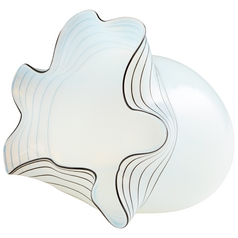 Cyan Design Moon Jelly White Vase