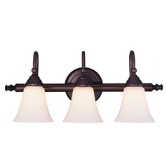 Savoy House Lighting English Bronze Bathroom Light