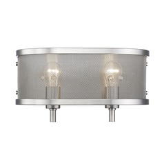 Golden Lighting Colson Pw Pewter Bathroom Light