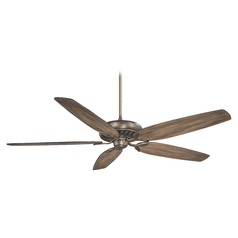 72-Inch Minka Aire Great Room Traditional Heirloom Bronze Ceiling Fan Without Light