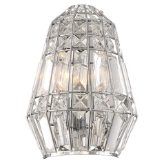 Minka Lavery Braiden Chrome Sconce