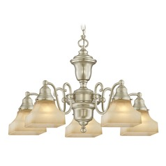 Holt Satin Nickel Chandelier