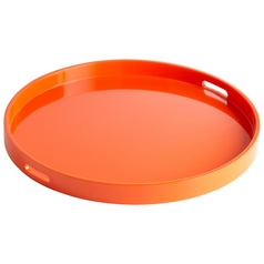Cyan Design Estelle Orange Lacquer Tray