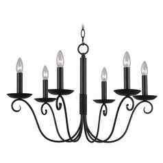 Kenroy Home Marion Forged Graphite Chandelier