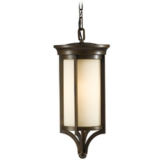 Outdoor Hanging Light in Heritage Bronze Finish