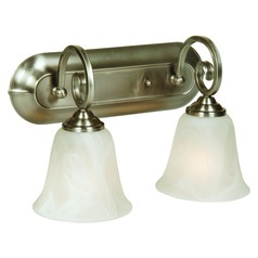 Craftmade Cecilia Brushed Satin Nickel Bathroom Light