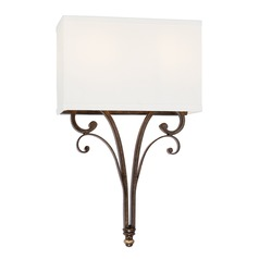 Capital Lighting Kingsley Dark Spice Sconce