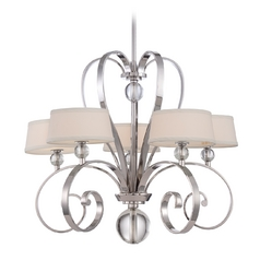 Chandelier in Imperial Silver Finish