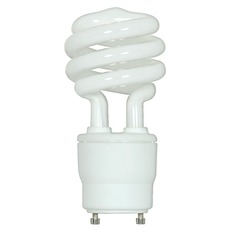 Compact Fluorescent T2 Light Bulb GU24 Base 2700K 120V by Satco Lighting
