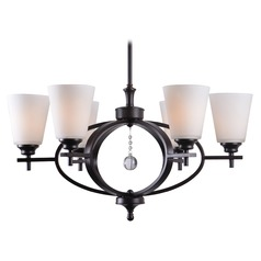 Kenroy Home Ollie Oil Rubbed Bronze Chandelier