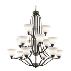 Kichler Lighting Langford Olde Bronze LED Chandelier