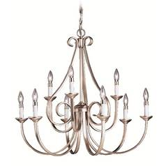 Kichler Lighting Kichler Chandelier in Brushed Nickel Finish 2031NI