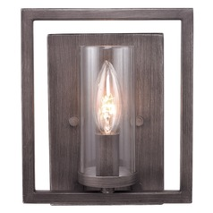 Golden Lighting Marco Gunmetal Bronze Sconce