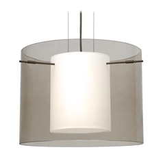 Besa Lighting Pahu Bronze LED Pendant Light