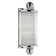 Mclean Polished Nickel Bathroom Light