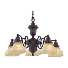 Design Classics Holt Royal Bronze Chandelier