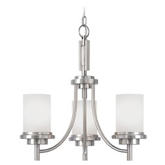 Sea Gull Lighting Winnetka Brushed Nickel Mini-Chandelier